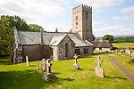 Village church of Saint Peter, Buckland in the Moor, Dartmoor national park, Devon, England