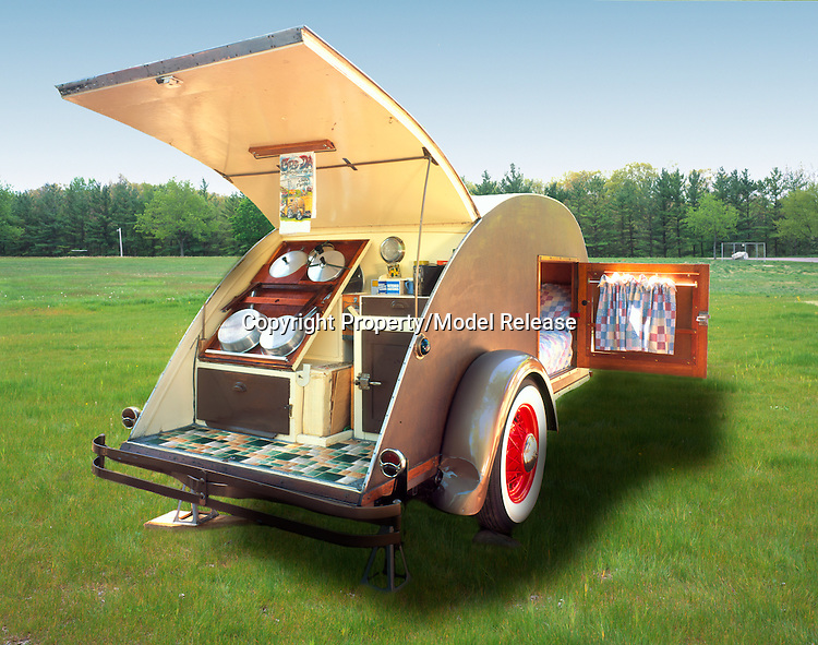 1937 Gypsy Caravan teardrop trailer