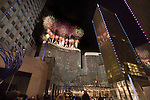 LAS VEGAS - DECEMBER 16: Fireworks explode during the grand opening of the Aria Resort & Casino at CityCenter December 16, 2009 in Las Vegas, Nevada.