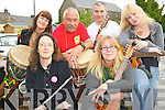 Pictured enjoying Live Music Day in Killarney on Thursday evening were Myra Rothero, Deborah O'Keeffe, Lies Van Hattem, Cees Van Hattem, John McGeever and Noirin O'Sullivan.................................................................