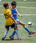 Juniors tournament during the Day 3 of the HKFC Citibank Soccer Sevens 2014 on May 25, 2014 at the Hong Kong Football Club in Hong Kong, China. Photo by Xaume Olleros / Power Sport Images
