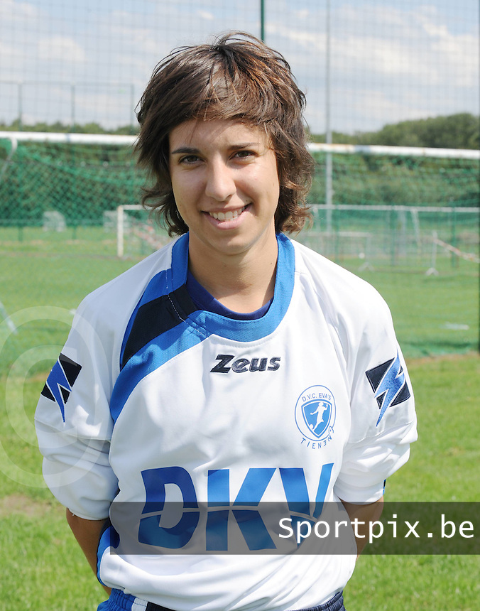 KVK Eva ' s Tienen : Marissa Ginis.foto DAVID CATRY / Vrouwenteam.be