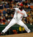 18 May 2007: Washington Nationals pitcher Ray King in action against the Baltimore Orioles at RFK Stadium in Washington, DC. The Orioles defeated the Nationals 5-4 in the first game of the 3-game interleague series...Mandatory Photo Credit: Ed Wolfstein Photo
