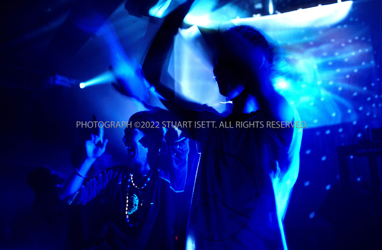 10/1/2000--Tokyo, Japan..Japanes youth at a rave at the Liquid Room, a club in Tokyo's Shinjuku Ward....All photographs ©2003 Stuart Isett.All rights reserved.This image may not be reproduced without expressed written permission from Stuart Isett.