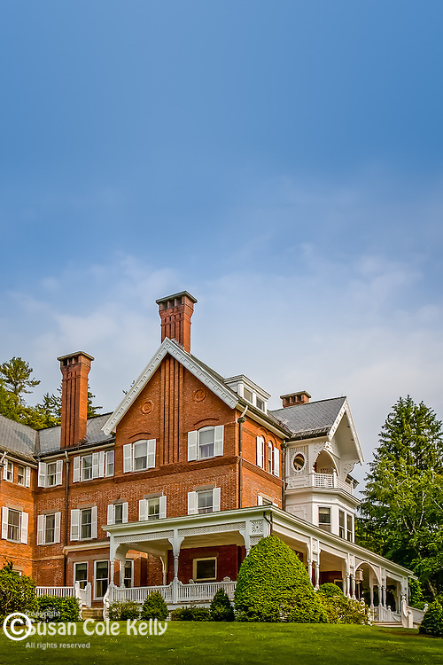 Mansion at the Marsh-Billings-Rockerfeller National Park, Woodstock, VT, USA
