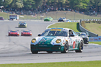 Clint Guthrie, #4 Porsche, Pirelli World Challenge, Barber Motorsports Park, Leeds, Alabama, April 2014(Photo by Brian Cleary/www.bcpix.com)