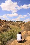Israel, Northern Negev, Nahal Ofakim in Ofakim Park