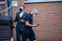 27th June 2020; Carrow Road, Norwich, England; FA Cup 6th round tie, Norwich City versus Manchester united; Teams arriving at the stadium pre-match;  Teemu Pukki arriving at Carrow Road