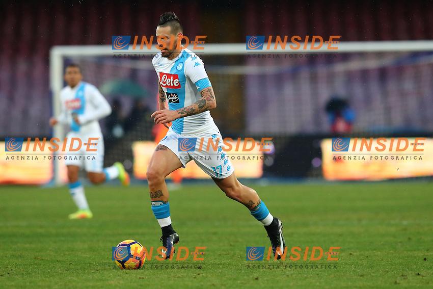Marek Hamsik Napoli<br /> Napoli 15-01-2017  Stadio San Paolo <br /> Football Campionato Serie A 2016/2017 <br /> Napoli - Pescara<br /> Foto Cesare Purini / Insidefoto