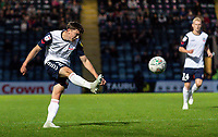 Bolton Wanderers' Callum King-Harmes shoots at goal <br /> <br /> Photographer Andrew Kearns/CameraSport<br /> <br /> The Carabao Cup First Round - Rochdale v Bolton Wanderers - Tuesday 13th August 2019 - Spotland Stadium - Rochdale<br />  <br /> World Copyright © 2019 CameraSport. All rights reserved. 43 Linden Ave. Countesthorpe. Leicester. England. LE8 5PG - Tel: +44 (0) 116 277 4147 - admin@camerasport.com - www.camerasport.com