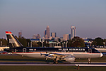 Charlotte Douglas International Airport is a hub of transportation in Charlotte NC.