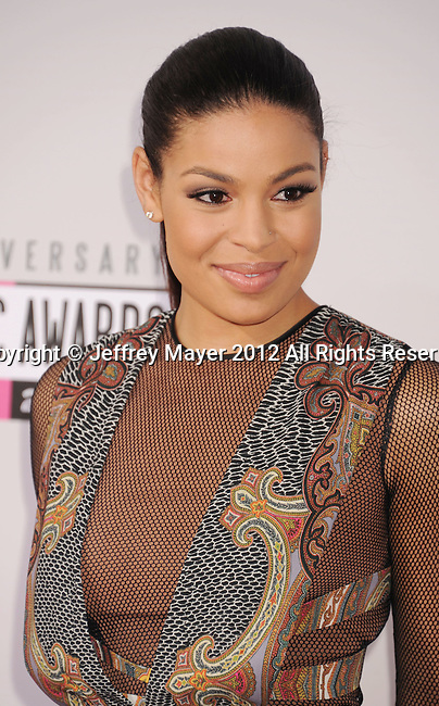 LOS ANGELES, CA - NOVEMBER 18: Jordin Sparks  attends the 40th Anniversary American Music Awards held at Nokia Theatre L.A. Live on November 18, 2012 in Los Angeles, California.