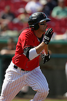 April 18, 2010: Nate Tenbrink of the High Desert Mavericks during game against the Lake Elsinore Storm at Mavericks Stadium in Adelanto,CA.  Photo by Larry Goren/Four Seam Images