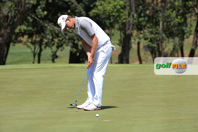 An eagle for /{prsn}/ on the 8th during Round Two of the 2016 BMW SA Open hosted by City of Ekurhuleni, played at the Glendower Golf Club, Gauteng, Johannesburg, South Africa.  08/01/2016. Picture: Golffile   David Lloyd<br /> <br /> All photos usage must carry mandatory copyright credit (&copy; Golffile   David Lloyd)