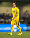 Villarreal's Gerard, who scored 4 goals in the second half, at the end of the game.