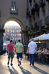 Entrance to Plaza Mayor Square, Madrid, Spain