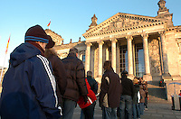 Tourists visit The Reichstag building in Berlin photographed December 28, 2008. It was opened in 1894 and housed the Reichstag until 1933, when it was severely damaged in a fire supposedly set by Dutch communist Marinus van der Lubbe, who was later beheaded for the crime. The building remained in ruins until the reunification of Germany, when it underwent reconstruction led by internationally renowned architect Norman Foster. After its completion in 1999, it became the meeting place of the modern German parliament, the Bundestag. (Photo by Alan Greth)