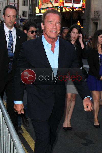 Arnold Schwarzenegger<br /> at &quot;The Expendables 3&quot; Los Angeles Premiere, TCL Chinese Theater, Hollywood, CA 08-11-14<br /> David Edwards/Dailyceleb.com 818-249-4998