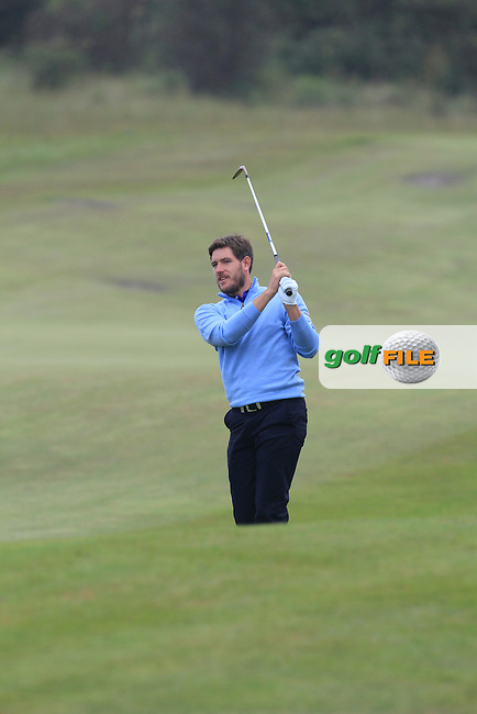 Adam Gee (ENG) on the 13th during Round 4 of the KLM Open at Kennemer Golf &amp; Country Club on Sunday 14th September 2014.<br /> Picture:  Thos Caffrey / www.golffile.ie