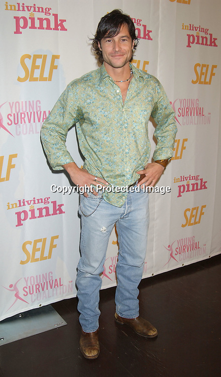 .. Mark Collier..at the Self Magazine party for the Young Survival Coalition's 5th Anniversary  on October 9, 2003 at ..Angel Orensanz Foundation...Photo By Robin Platzer, Twin Images