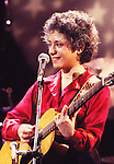 Janis Ian 1980 on Midnight Special.© Chris Walter.