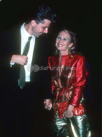 #Maxwell Caulfield #JulietMills 1984<br /> Photo By John Barrett/PHOTOlink.net / MediaPunch