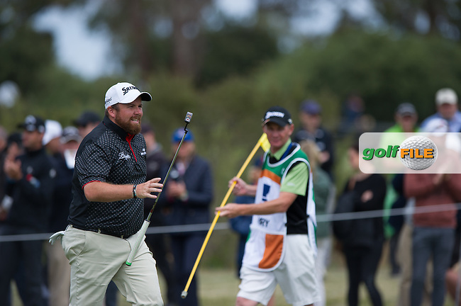 Shane Lowry (IRL) during round 3 at the ISPS Handa World Cup of Golf, from Kingston heath Golf Club, Melbourne Australia. 26/11/2016<br /> Picture: Golffile | Anthony Powter<br /> <br /> <br /> All photo usage must carry mandatory copyright credit (&copy; Golffile | Anthony Powter)