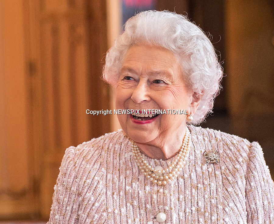 05.04.2017; London, England: QUEEN ELIZABETH<br />presented a guidon to The Royal Lancers who are based in Catterick. <br />The Queen added an honorific suffix to the regiment's name to mark 70 years of her being its Colonel-in-Chief. The regiment will now be known as The Royal Lancers (The Queen Elizabeths' Own) <br />Prince Andrew, The Duke of York, who is Deputy Colonel-in-Chief of the regiment was also present at the event.<br />Queen Elizabeth will be celebrating her 91st birthday on 21st April 2017.<br />Mandatory Credit Photo: &copy;MoD/NEWSPIX INTERNATIONAL<br /><br />IMMEDIATE CONFIRMATION OF USAGE REQUIRED:<br />Newspix International, 31 Chinnery Hill, Bishop's Stortford, ENGLAND CM23 3PS<br />Tel:+441279 324672  ; Fax: +441279656877<br />Mobile:  07775681153<br />e-mail: info@newspixinternational.co.uk<br />*All fees payable to Newspix International*