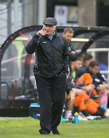Maidenhead United Manager Alan Devonshire during the Pre Season Friendly match between Maidenhead United and Wycombe Wanderers at York Road, Maidenhead, England on 28 July 2017. Photo by Andy Rowland.