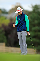Luke O'Neil of Ireland during Day 2 / Foursomes of the Boys' Home Internationals played at Royal Dornoch Golf Club, Dornoch, Sutherland, Scotland. 08/08/2018<br /> Picture: Golffile | Phil Inglis<br /> <br /> All photo usage must carry mandatory copyright credit (&copy; Golffile | Phil Inglis)