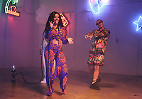 MIAMI, FLORIDA - MAY 29, 2018  Cardi B &amp; J Balvin on the set of the I Like It video shoot March 28, 2018 in Miami, Florida. <br /> CAP/MPI/WG<br /> &copy;WG/MPI/Capital Pictures