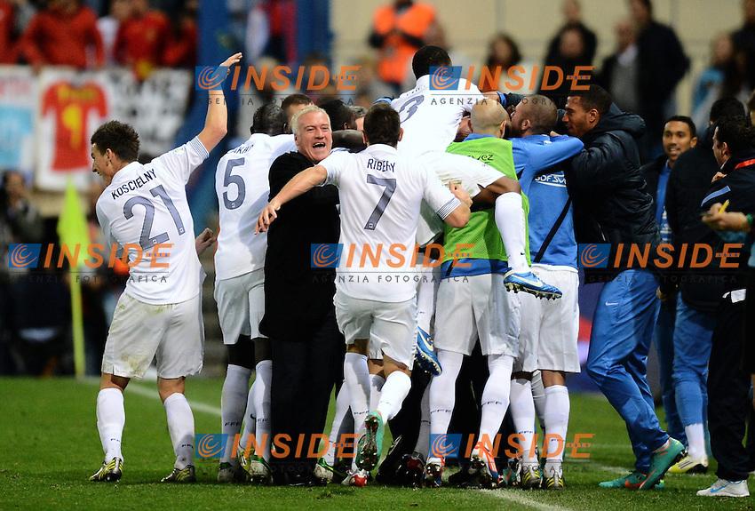 Didier DESCHAMPS (fra) .Madrid 16/10/2012 .Football Calcio Qualificazioni Mondiali 2014.Spagna Vs Francia.Foto Panoramic / Insidefoto.ITALY ONLY