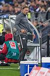 08.09.2017, Volksparkstadion, Hamburg, GER, 1.FBL, Hamburger SV vs RB Leipzig<br /> <br /> im Bild<br /> Ralph Hasenh&uuml;ttl / Hasenhuettl (Trainer RB Leipzig #Trainer Headcoach) in Coachingzone, <br /> <br /> Foto &copy; nordphoto / Ewert