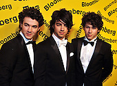 Washington,DC - April 26, 2008 -- The Jonas Brothers arrive at the Embassy of Costa Rica in Washington, D.C. on Saturday, April 26, 2008 for the annual Bloomberg party following the White House Correspondents Association (WHCA) Dinner..Credit: Ron Sachs / CNP.(RESTRICTION: NO New York or New Jersey Newspapers or newspapers within a 75 mile radius of New York City)