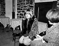 Diane Dufresne<br /> , le 6 avril 1967<br /> <br /> <br /> Photo Moderne - Agence Quebec Presse