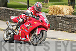 High powered motorcycles reaching speeds.of 190mph were just some of the ingredients.that attracted huge crowds to Athea at the.weekend.On Saturday and Sunday.the West Limerick.village hosted the sixth.annual festival of Road.Races..Over 23,000 attended.the event which had bikes.from the 1,000cc superbikes.to the lightweight.125cc class.