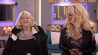 Ann Widdecombe, Shane Jenek aka Courtney Act<br /> Celebrity Big Brother 2018 - Day 30<br /> *Editorial Use Only*<br /> CAP/KFS<br /> Image supplied by Capital Pictures
