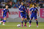 (L-R) Homare Sawa, Aya Miyama (JPN), MAY 28, 2015 - Football / Soccer : KIRIN Challenge Cup 2015 match between Japan 1-0 Italy at Minaminagano Sports Park, <br /> Nagano, Japan. (Photo by Yusuke Nakansihi/AFLO SPORT)