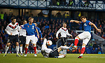 Lee McCulloch cracks in a shot