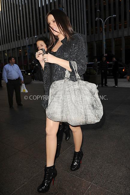 WWW.ACEPIXS.COM . . . . . ....December 8 2009, New York City....TV personality Kourtney Kardashian leaving a Radio Studio in Manhattan on December 8 2009 in New York City....Please byline: KRISTIN CALLAHAN - ACEPIXS.COM.. . . . . . ..Ace Pictures, Inc:  ..tel: (212) 243 8787 or (646) 769 0430..e-mail: info@acepixs.com..web: http://www.acepixs.com