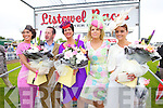 Aoife Kelleher, Listowel, Jim Culloty, Joan McCarthy Best Dressed Lady from Listowel Marietta Doran and Tasha O'Connor, Templeglantine at Listowel Races Ladies Day on Sunday.