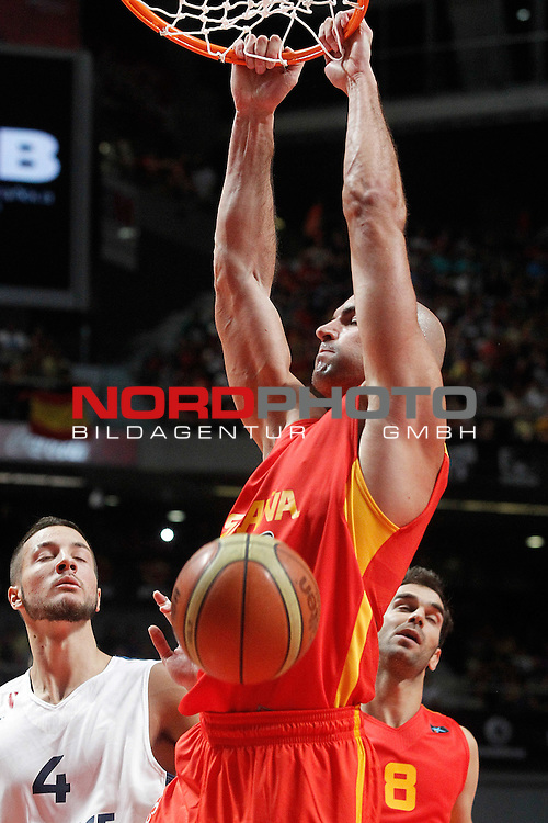 Spain's Xavi Rey during friendly match.August 23,2012. Foto © nph / Acero)