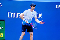 Andy Murray, professional, tennis player, competing US Open, USA, 29th August 2018, 201808294522<br />