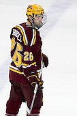 Jay Barriball (Minnesota - 26) - The Boston College Eagles defeated the University of Minnesota Golden Gophers 5-2 on Saturday, March 29, 2008, in the NCAA Northeast Regional Semi-Final at the DCU Center in Worcester, Massachusetts.