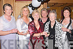 TOASTING: Toasting to the Adi Roche Chernobyl Childrens Project Mid-Summer Ball at The Meadowlands Hotel, Tralee, on Saturday evening. L-r: Mary O'Mahony and Helen O'Mahony (Kilflynn), Rita Rahilly (Chutehall), Josephine O'Rahilly (Kilflynn), Vivienne Sugrue (Tralee) and Joan O'Halloran (Listowel)..
