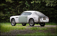 BNPS.co.uk (01202 558833)<br /> Pic: Bonhams/BNPS<br /> <br /> This ultra-rare and little-known about Italian sports car has been unearthed after languishing in a garage for the last 50 years. <br /> <br /> The Siata Daina Coupe is believed to be one of only six survivors and perhaps the most original of them all as it appears exactly as it left the factory in 1951. <br /> <br /> Despite its dilapidated state having not been touched for half a century experts expect it to fetch a cool &pound;125,000 when it goes under the hammer later this month. <br /> <br /> The barn find motor, which was only shipped to the UK from Mexico this year, will be sold by Bonhams auctioneer at the Goodwood Festival of Speed in West Sussex on June 30.