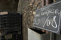 chalk board domaine parent pommard cote de beaune burgundy france