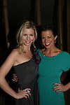 All My Children's Stephanie Gatschet & Melissa Claire Egan at Marcia Tovsky's Holiday/Bon Voyage Party for AMC on December 1, 2009 at Nikki Midtown, New York City, New York. (Photo by Sue Coflin/Max Photos)
