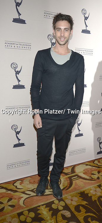 Blake Berris attends the Academy Of Television Arts & Science Daytime Programming  Peer Group Celebration for the 40th Annual Daytime Emmy Awards Nominees party on June 13, 2013 at the Montage Beverly Hills in Beverly Hills, California.