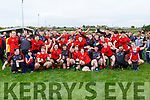 Glenbeigh/Glencar team celebrate after they defeated Laune Rangers in the Mid Kerry final in Killorglin on Sunday